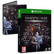 Middle Earth Shadow of War Silver Edition + Steelbook Xbox One Game