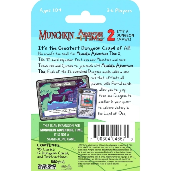 Munchkin Adventure Time 2 Its a Dungeon Crawl! Expansion - Image 2