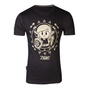 Nintendo - Tribal Link Men's XX-Large T-Shirt - Black