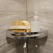 Adhesive Corner Shower Caddy | M&W 1 Tier - Image 2