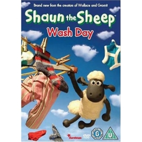 Shaun the Sheep - Wash Day DVD