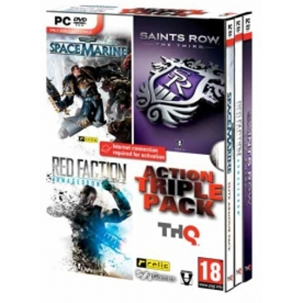 Saints Row The Third / Space Marine / Red Faction Armageddon Triple Pack Game PC