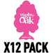 Bubblegum (Pack Of 12) Mighty Oak Air Freshener - Image 2