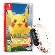 Pokemon Let's Go Pikachu! Nintendo Switch Game + GO-TCHA for Pokemon Go