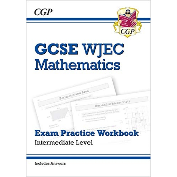 New WJEC GCSE Maths Exam Practice Workbook: Intermediate (includes Answers)  Paperback / softback 2018