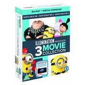 Despicable Me 1-3 Boxset Blu-ray