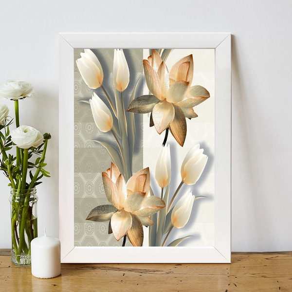 BC453031654 Multicolor Decorative Framed MDF Painting