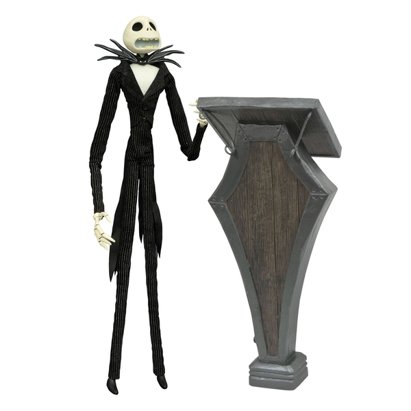 Podium Jack (Nightmare Before Christmas) Deluxe Coffin Doll