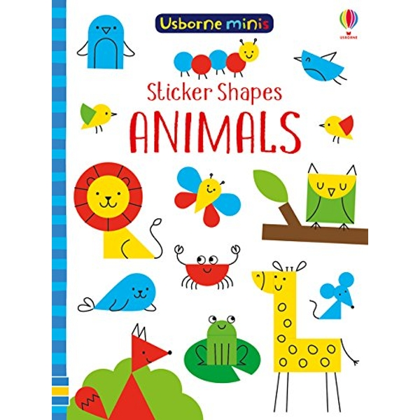 Sticker Shapes Animals  Paperback / softback 2018