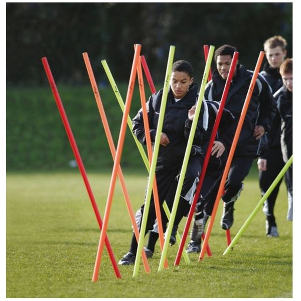 Precision Training Boundary Poles