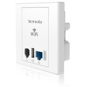 Tenda W6 Wireless N300 PoE Wall Plate Access Point
