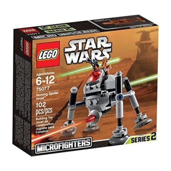 LEGO Star Wars Microfighters Series 2 Homing Spider Droid