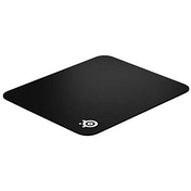 SteelSeries QcK Hard Gaming Mouse Pad - Enhanced Surface Texture - Optimized For Gaming Sensors - Durable Multi-layer construction - Size M (320x270mm)