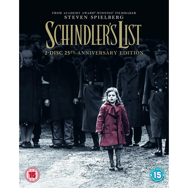 Schindler's List - 25th Anniversary Edition Blu-ray