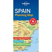 Lonely Planet Spain Planning Map by Lonely Planet (2018)
