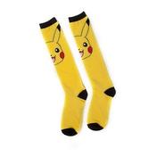 Pokemon - Pikachu Woman's One S Knee High Socks - Yellow