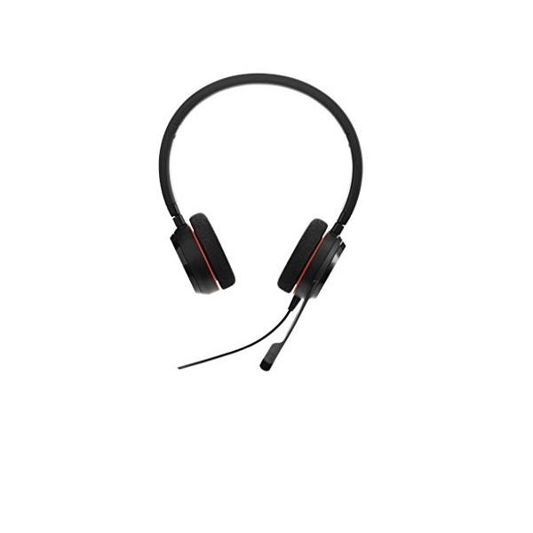 Jabra Evolve Over The Head Supra Aural 20 Wired Stereo Headset