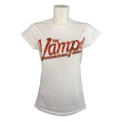 The Vamps Team Vamps Ladies White T Shirt X Large