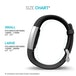 Yousave Activity Tracker Strap Single - Black (Large) - Image 4