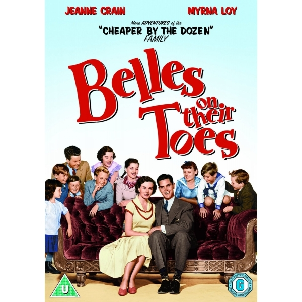 Belles On Their Toes DVD