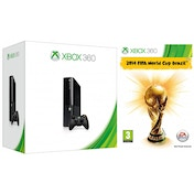 Slim 250GB HDD Black Xbox 360 Console with FIFA World Cup Brazil 2014 Game