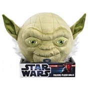Ex-Display Star Wars Ball Buddie Plush Yoda Used - Like New