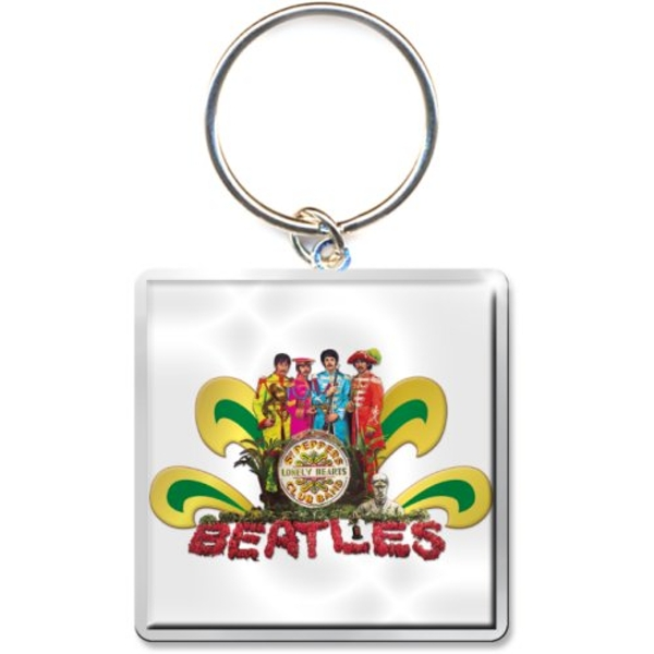The Beatles - Sgt Pepper Naked Keychain