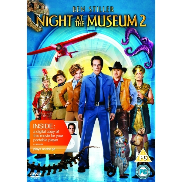 Night At The Museum 2 Battle of The Smithsonian DVD