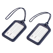 Hama Luggage Tag, set of 2, dark-blue