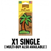 California Scents Palms Hang-Outs Capistrano Coconut Car/Home Air Freshener