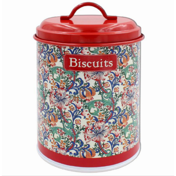 Golden Lily Biscuits Canister By Lesser & Pavey