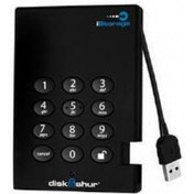 iStorage diskAshur Portable Encrypted USB 3.0 128-bit 250GB Hard Drive with ultra-secure PIN Access