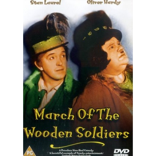 Laurel And Hardy - March Of The Wooden Soldiers DVD