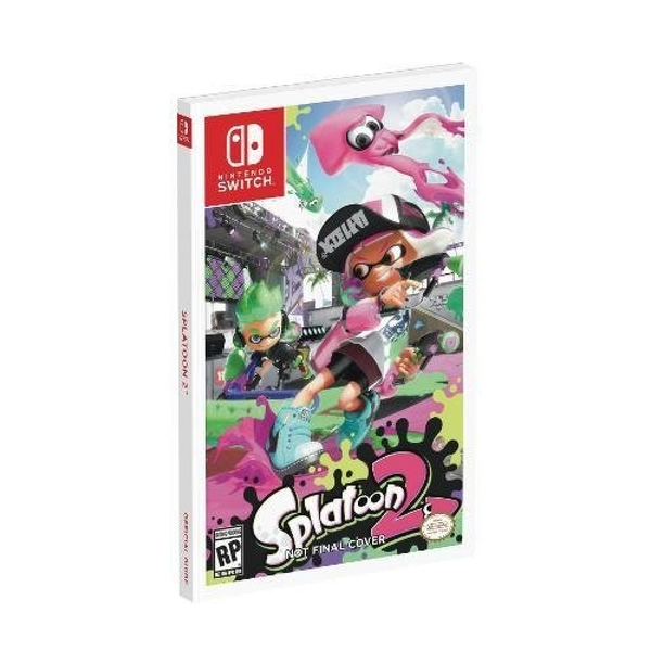 Splatoon 2: Prima Official Guide (Paperback)