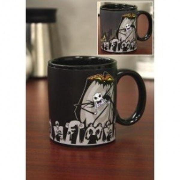 "Nightmare Before Christmas ""Jack Scary Face"" Thermal Mug"