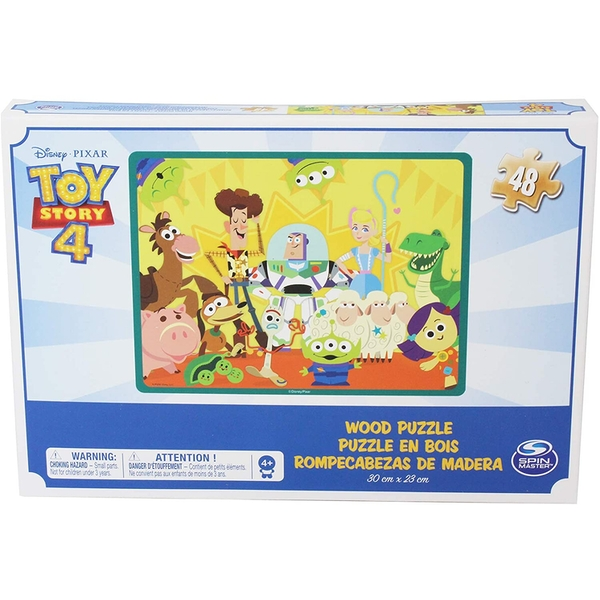 Toy Story 4 Wood Puzzle (48 Pieces)