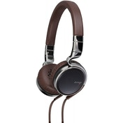 JVC HA-SR75S Esnsy On-Ear Headphones inc Mic Remote - Brown