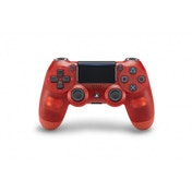 Ex-Display New Sony Dualshock 4 V2 Translucent Red Crystal Controller PS4 Used - Like New