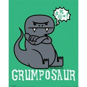 David & Goliath - Grumposaur Mini Poster