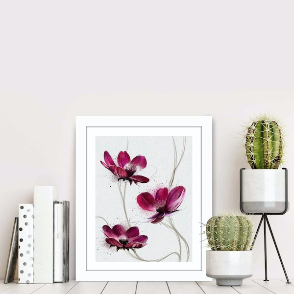 BCT-014 Multicolor Decorative Framed MDF Painting