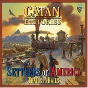 Catan Histories Settlers of America Trails to Rails Board Game