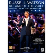 Russell Watson Return of the Voice Live From the Royal Albert Hall DVD