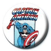 Marvel - Captain America - Retro Badge