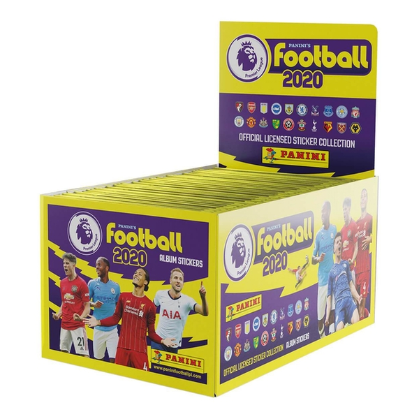 Panini Football 2020 Premier League Sticker Collection Booster box (100 Packs)