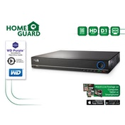 HomeGuard HG8DVR1T 1TB Purple 8-Channel HD Out DVR
