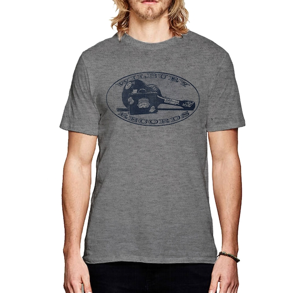 Traveling Wilburys - Wilbury Records Men's Medium T-Shirt - Heather Grey