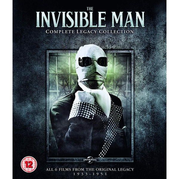 Invisible Man: Complete Legacy Collection Blu-ray