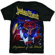 Judas Priest Defender of Faith Mens T Shirt: Small