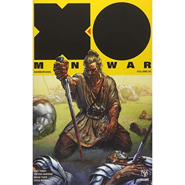 XO Manowar (2017) Volume 5: Barbarians