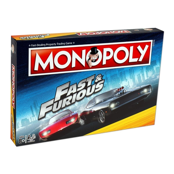 Fast & Furious Monopoly Board Game - Image 1
